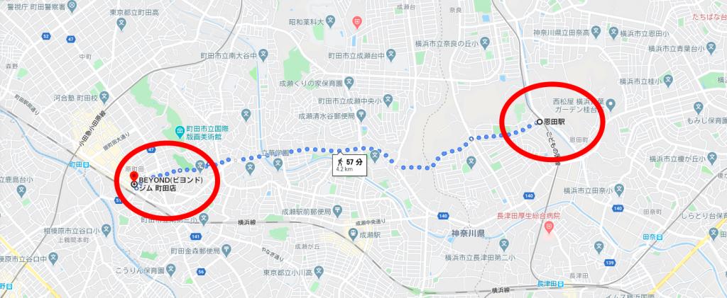 恩田駅から近いパーソナルトレーニングジム