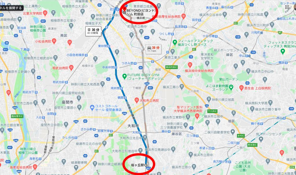 桜ヶ丘駅近くのおすすめジム・パーソナルトレーニングジム