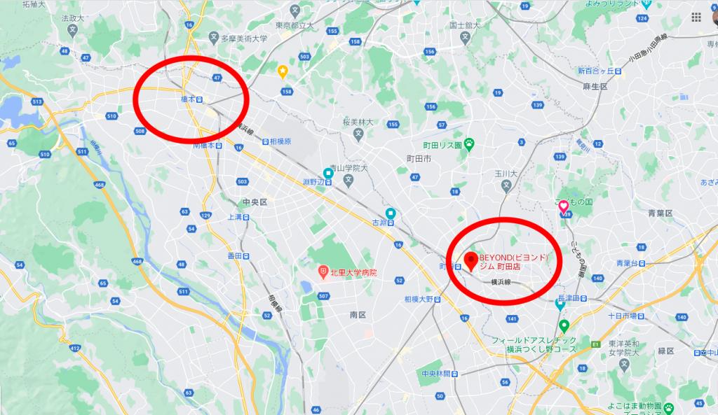 橋本駅近くのおすすめジム・パーソナルトレーニングジム